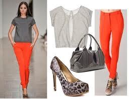 C mo combinar colores en la ropa periodista curiosa for Colores que combinan con gris claro